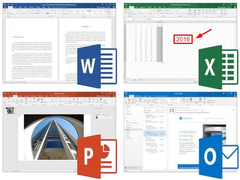 free download microsoft office 2016 for windows 10